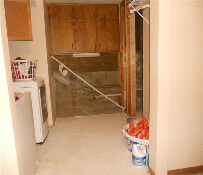 Laundry Room After Mitigation