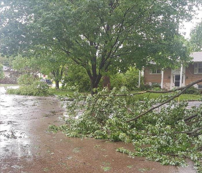 Storm Damage When Storms Or Floods Hit, SERVPRO Is Ready